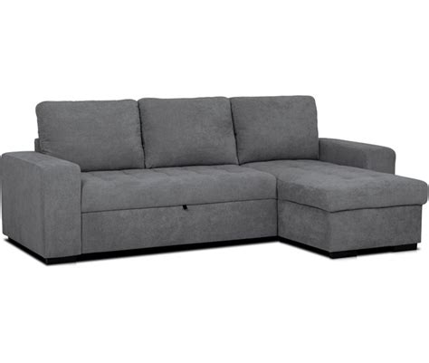 chaise longue reversible tela  cama harry conforama