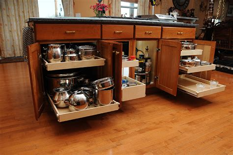 Kitchen Cabinets Organizers Home Depot by The Best Kitchen Cabinet Storage Solutions For Your La