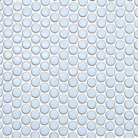 beltile light blue penny  porcelain mosaic