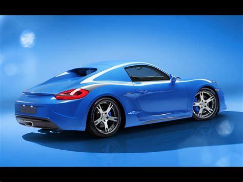 2018 Studiotorino Porsche Cayman Moncenisio Blue