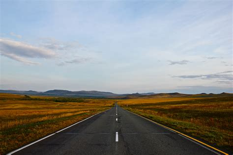 High quality picture of Nature, image of Russia, road ...