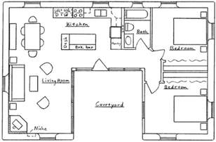 design floor plans free u shaped house floor plan small u shaped house plans houses plans and designs free