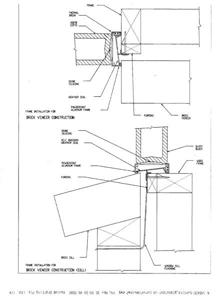 Window Sill Section by Blokup Window Sill And Jamb Section With Thermal