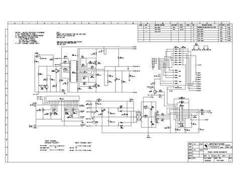 rockford fosgate punch 40 dsm service manual download schematics eeprom repair info for