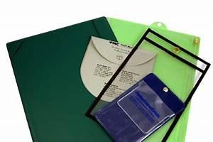 vinyl envelopes pouches document holders With vinyl document pouch