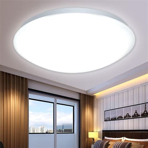 bedroom ceiling lights new led flush mounted ceiling light fixtures living 10303 | s l1000