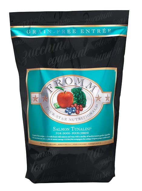 fromm  star nutritionals grain  salmon tunalini