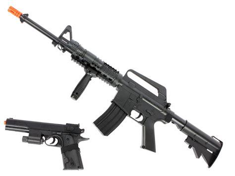 Colt M4/A1 RIS Spring Gun Airsoft Kit | ReplicaAirguns.ca