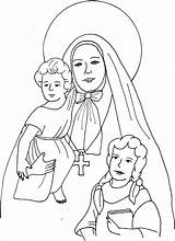Cabrini St Coloring Frances Pages Francis Mother Education Catholic Children Catechism Saints Scribd Colorare Da Francesca Immagini Religious sketch template
