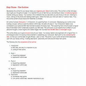 Memo Outline Format Essay Outline Templates 10 Free Word Pdf Samples