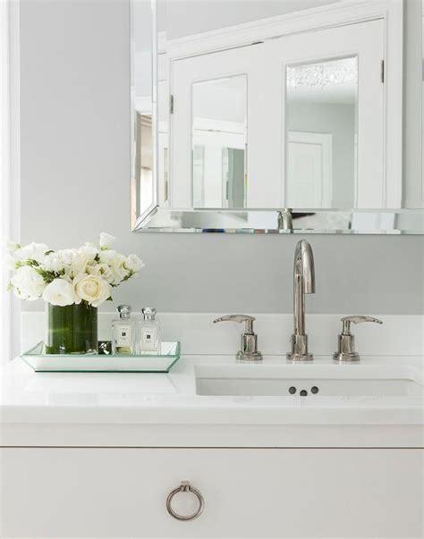 Mirrored Bathroom Tray by Nickel Perfume Tray Design Ideas