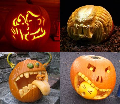 Scary Pumpkin Carving Faces Stencils by Decorating Ideas Interesting Pictures Of Decorative
