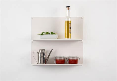 ot de cuisine étagère pour la cuisine quot le quot ot de 2 45x15 cm acier
