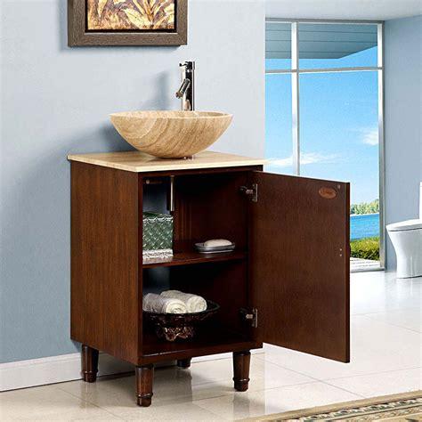 "20"" Perfecta Pa154 Single Sink Cabinet Bathroom Vanity"