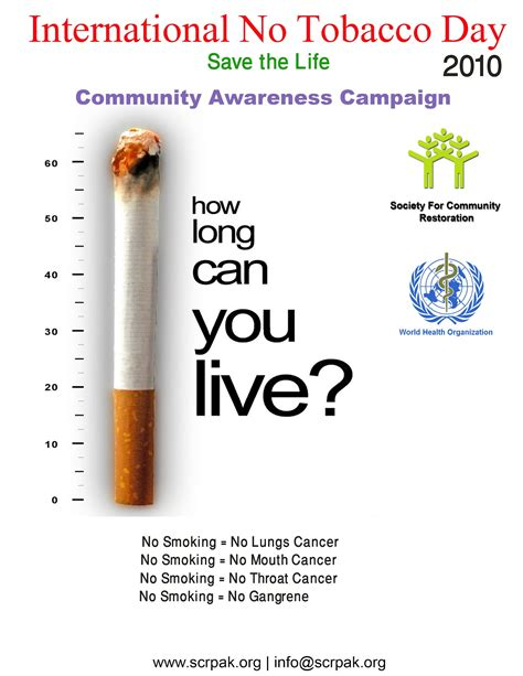 tobacco society long awareness community pak restoration
