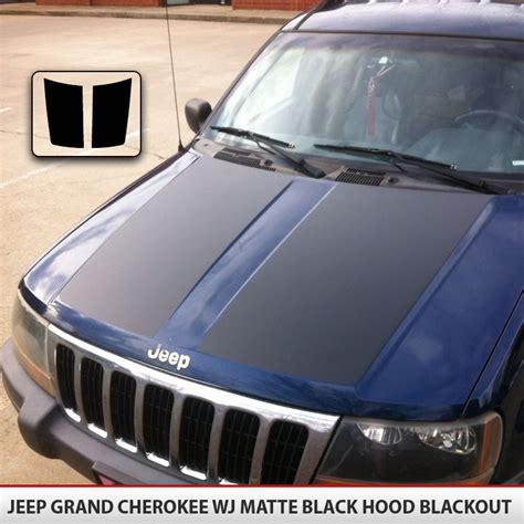 jeep grand cherokee stickers jeep grand cherokee blackout hood alphavinyl