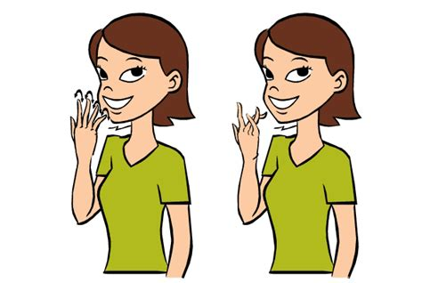 sign language for colors color