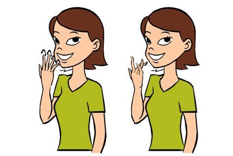 color sign language color