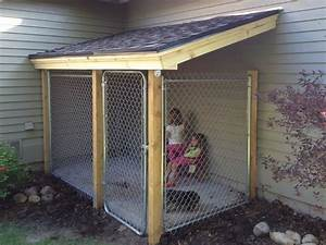 10 best dog runs images on pinterest dog houses dog With outdoor dog kennel accessories