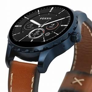 Montre Fossil Connectee : montre fossil q cuir montre homme avec cleor ftw2106 ~ Melissatoandfro.com Idées de Décoration