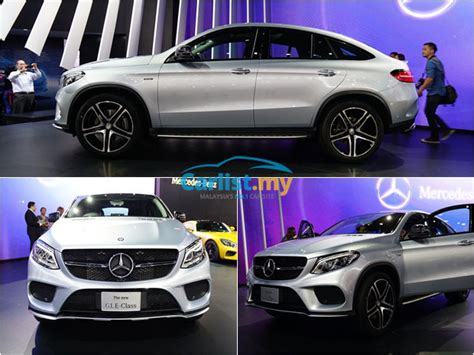 All-new 2015 Mercedes-benz Gle-class Coupe At The Bangkok