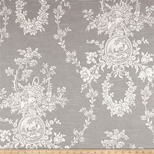 Waverly Country House Toile Platinum - Discount Designer