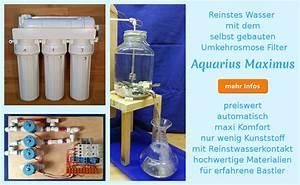 Regenwasserfilter Selber Bauen : wasserfilter selber bauen lebendiges trinkwasser ~ Lizthompson.info Haus und Dekorationen