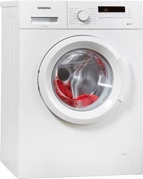 siemens waschmaschine 6 kg siemens waschmaschine iq100 wm14b222 6 kg 1400 u min kaufen otto