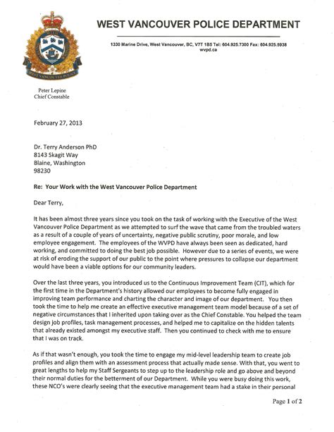 letters  recommendation consulting coach anderson