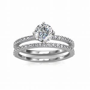 engagement ring wedding band solitaire diamond rings With best prices on wedding rings
