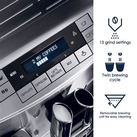 There's a wealth of information to explore out there. DeLonghi America ECAM28465M Prima Donna Fully Automatic Espresso Machine with Lattecrema System ...