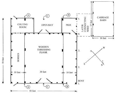 Hog Barn Plans by Barn Preservation Society