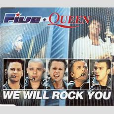 Five + Queen  We Will Rock You (cd) At Discogs