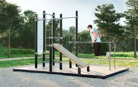 A Fitness Playground For Grown Ups