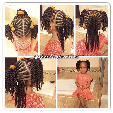 natural hair style  kids hairstyles   girls
