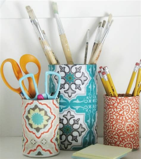 comment faire un bureau soi meme 1001 idées pour fabriquer un pot à crayon adorable soi même