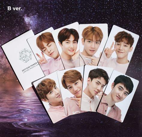 exo photocards photocard