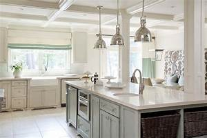 faux finish kitchen island transitional kitchen With kitchen colors with white cabinets with woven basket wall art