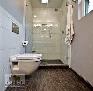 Bathroom Remodel Modern – Strech Construction – Remodel