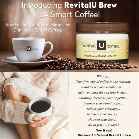 Revital u's products are all about coffee. 26 best revital u brew before and after images on Pinterest   Brewing, Brow bar and Cups
