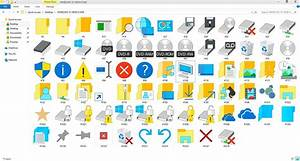 WINDOWS 10 BUILD 10056 ICON PACK | IMAGERES.DLL by GTAGAME ...