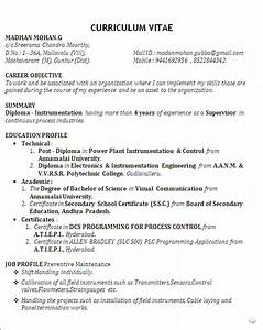 Electronics Engineering Cover Letter Sample Best Resume Sample For Post Diploma In Power Plant