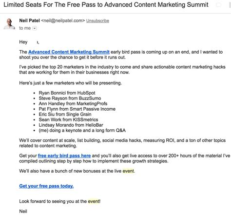 real examples  event invitation emails newoldstamp