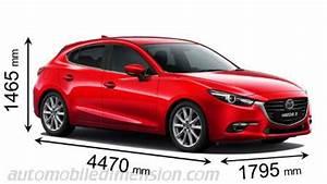 Dimension Mazda 3 : dimensions des voitures mazda longueur x largeur x hauteur ~ Maxctalentgroup.com Avis de Voitures