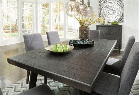 besteneer gray rectangular dining room set stopbedrooms