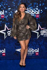 Kelly Brook attends The Global Awards 2020 at Eventim ...