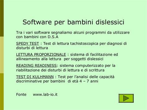 Test Per Dislessia by Dislessia 2
