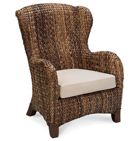 Used Pottery Barn Seagrass Chairs by Seagrass Wing Back Chair Someday Living At The