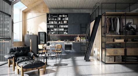 sims 3 cuisine decordemon ιndustrial style loft in singapore