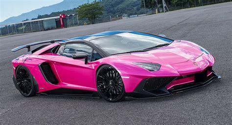 lamborghini aventador sv roadster liberty walk liberty walk lamborghini aventador sv is oh so pink